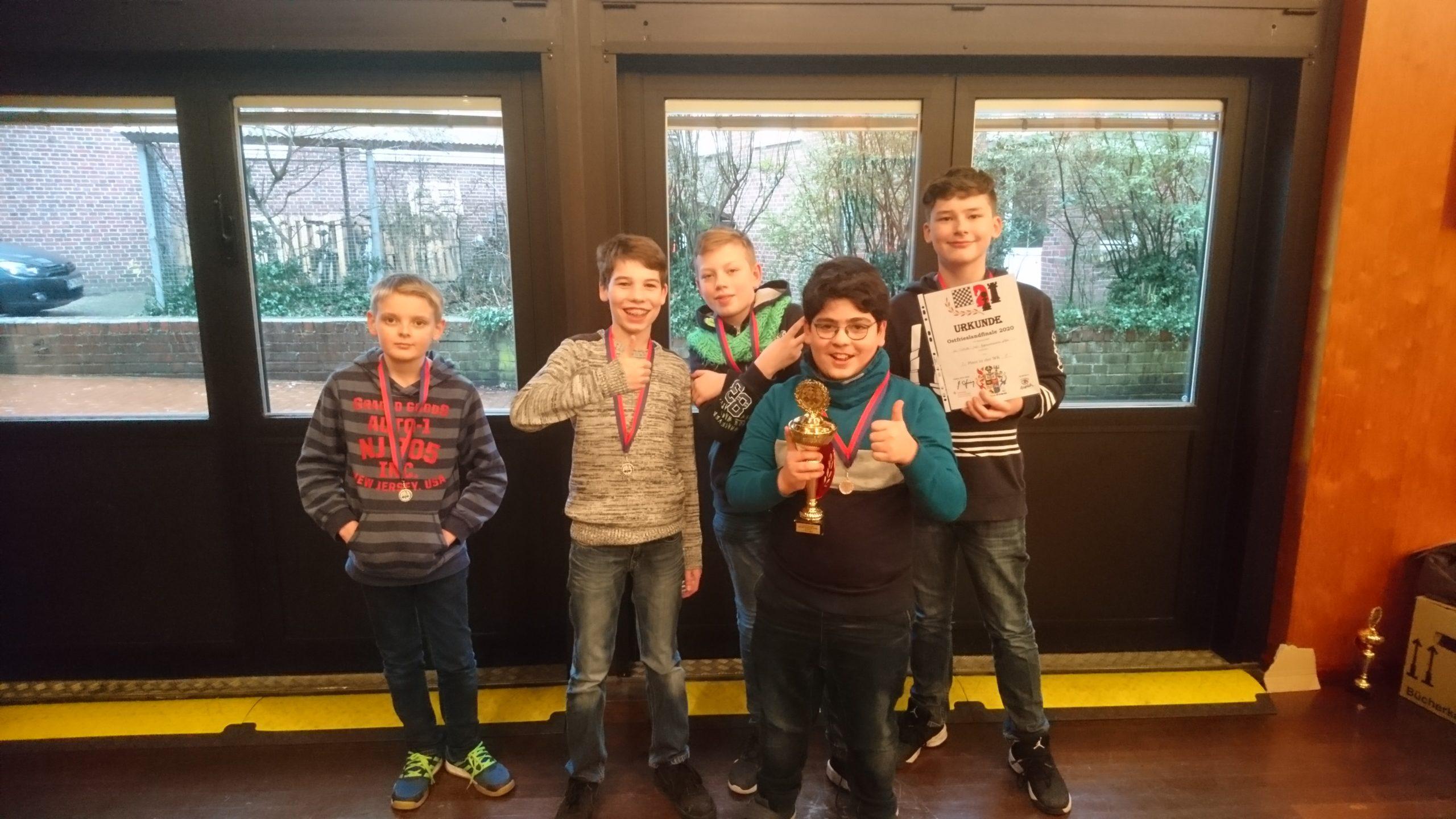 Schachmeisterschaften mit Teams vom TGG